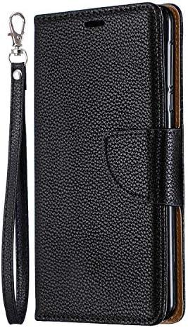 iPhone 8 PUレザー ケース, 手帳型 ケース 本革 携帯ケース 高級 ビジネス カバー収納 財布 手帳型ケース iPhone アイフォン 8 レザーケース