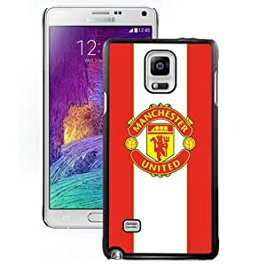Unique DIY Designed Case For Samsung Galaxy Note 4 N910A N910T N910P N910V N910R4 With Soccer Club Manchester United 08 Football Logo Cell Phone Case