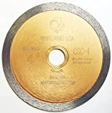 Whirlwind USA LCPC 4 in. Continuous Rim Diamond Tile Blades for Materials with Porcelain and Glass Included (Factory Direct Sale) (4'')