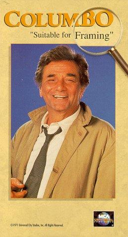 Amazon.com: Columbo: Suitable for Framing [VHS]: Peter Falk, Ross ...