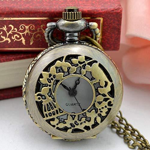 Amazon.com: Taco Mocho Mens Gift Vintage Classic Retro Bronze Design Pocket Watch Quartz Pendant Necklace Pocket fob Watches Steampunk Mechanical 2018: ...