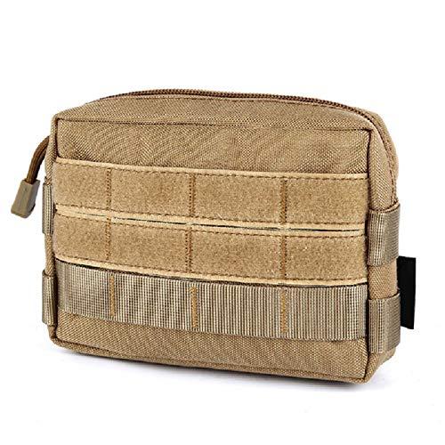 ZhangHongJ,Armée multifonctionnelle fan accessoire sac petit sac extérieur sac de rangement portefeuille mobile(color:Boue,size:15 * 3,5 * 10)