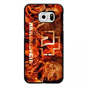 TPU Case Cover The Rock Hottest Rammstein Mainstream TPU Logo Phone Case,Samsung Galaxy S6 edge Protective Phone Case Cover
