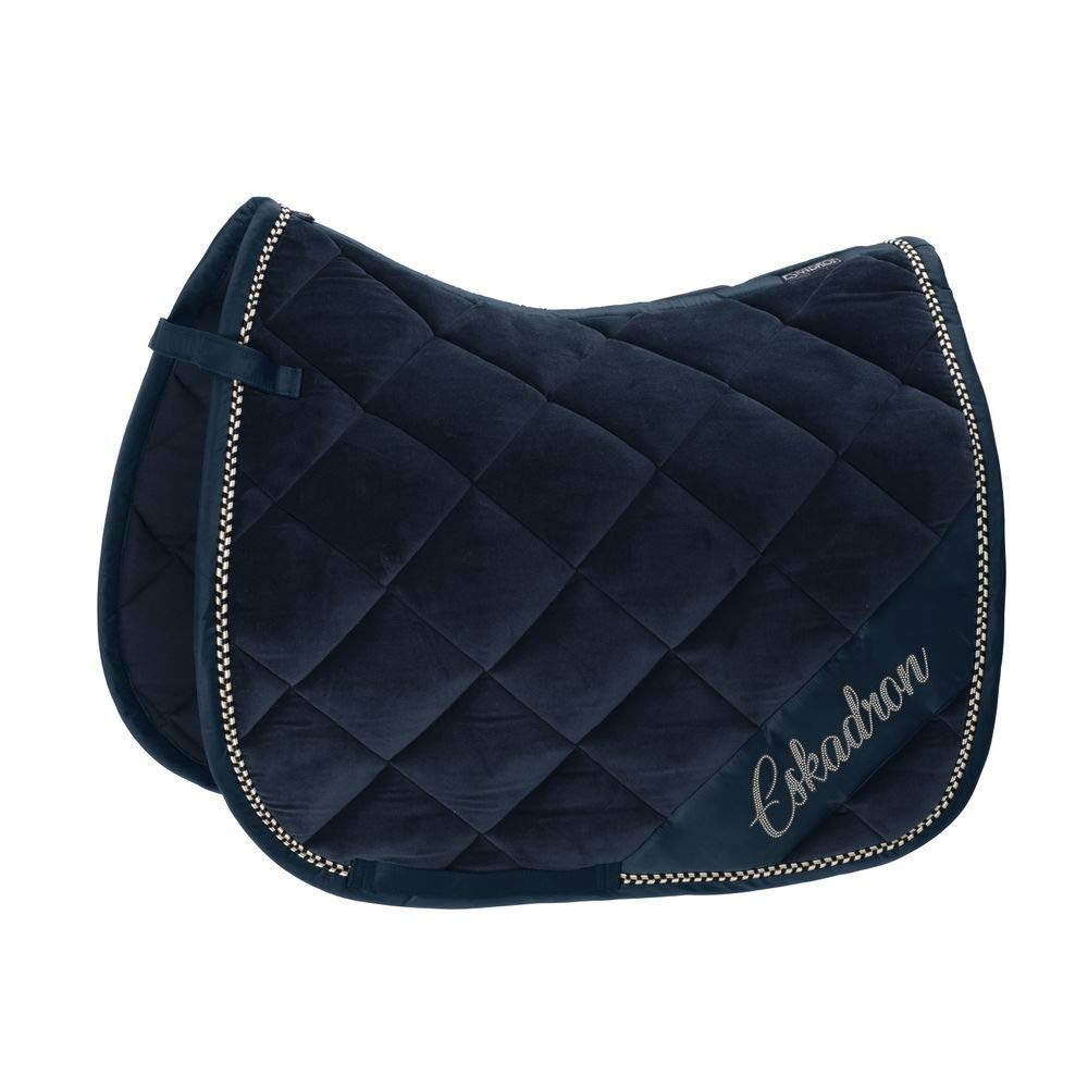 Dressage (DL) Eskadron Saddle Cloth Velvet Crystal NAVY Classic Sports SS 2019