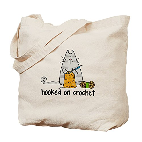 CafePress Hooked crochet Natural Shopping