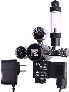 FZONE Aquarium CO2 Regulator DC Solenoid Mini