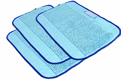 iRobot Authentic Replacement Parts- Braava 300 Series Microfiber Pro-Clean Mopping Cloths for Braava Floor Robot Mop (3-Pack)