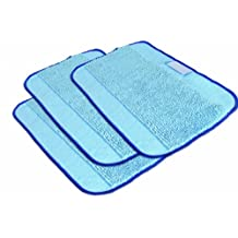iRobot Microfiber 3-Pack, Pro-Clean Mopping Cloths for Braava Floor Mopping Robot
