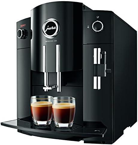 Jura IMPRESSA C60 - Cafetera (Independiente, Negro, Granos de café ...