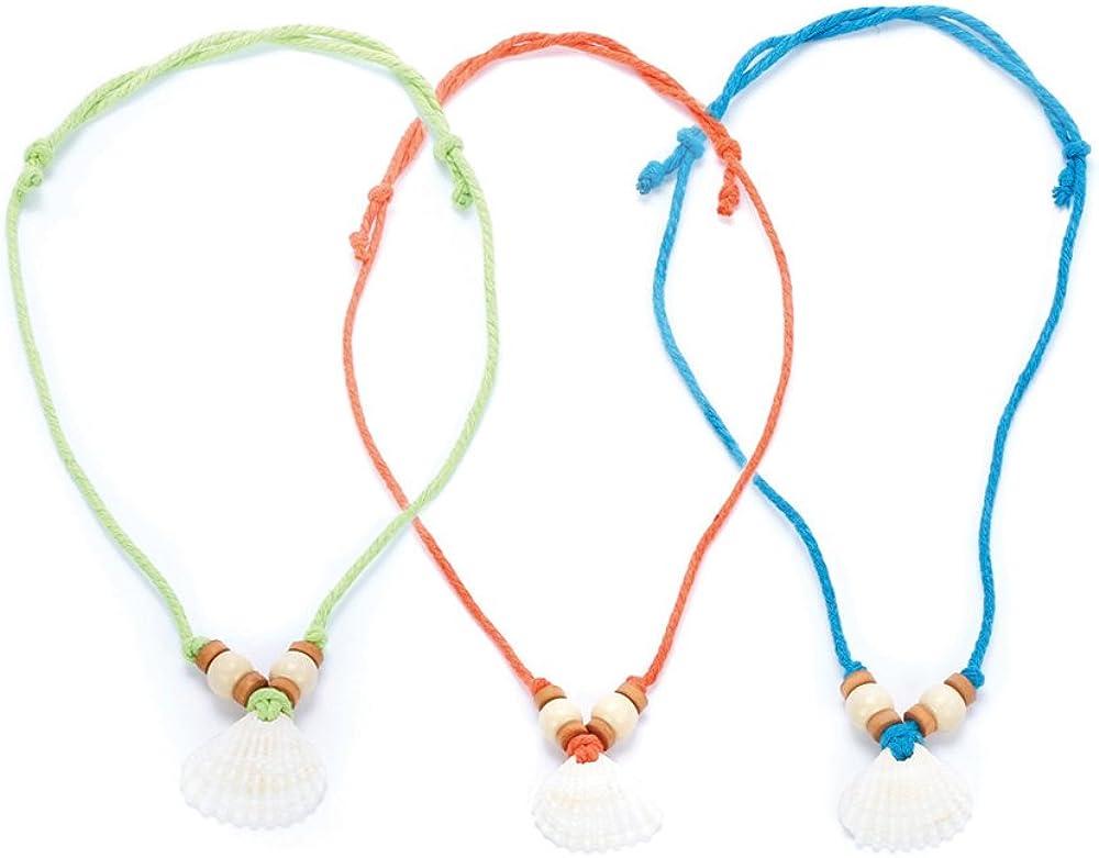 Peppercorn Kids Girls Seashell Necklace