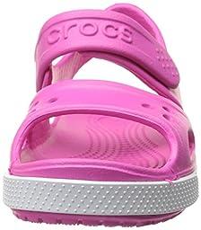 crocs Kids\' Crocband II Sandal (Toddler/Little Kid/Big Kid), Neon Magenta/Neon Purple, 9 M US Toddler