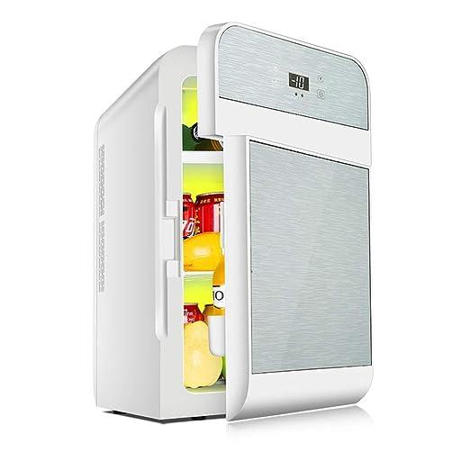 JU FU Mini nevera Refrigerador para autos-20L Refrigerador pequeño ...