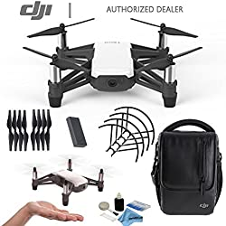 DJI Tello Quadcopter Drone Starters Kit, Powered by DJI