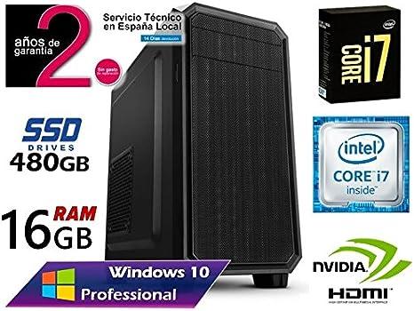 Ordenador SOBREMESA Intel Core i7 up 3.46Ghz x 4 Cores | GRÁFICA ...