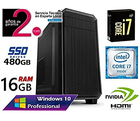 Ordenador Gaming SOBREMESA Intel Core i7 up 3.46Ghz x 4 Cores ...