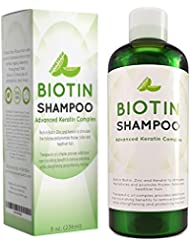 Hair Loss Shampoo for Men and Women - DHT Blocker - Biotin for Hair Growth and