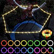 Laelr Trampoline Lights, Waterproof Trampoline LED Lights with Remote Control, 16 Colors 32Ft, Trampoline Acce