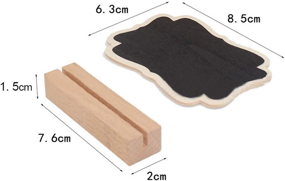 Small Blackboard Decoration Creative Wooden Crafts Display Cabinet Decorative#II
