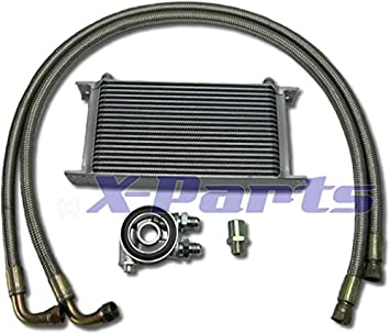 19 Row Oil Cooler Connection Set Steel Flex + Termostato 16 V R32 Turbo clet