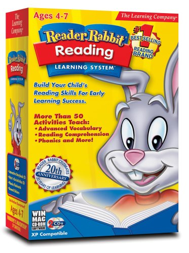 Reader Rabbit Reading Learning System by Riverdeep - Learning company