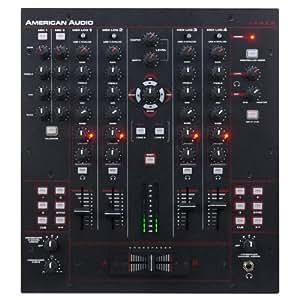 American Audio 14 MXR Mesa de mezclas DJ 4 canales USB MIDI