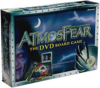 Atmosfear Interactive Board Game with DVD by Pressman Toy: Amazon ...