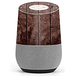 Skin Decal Vinyl Wrap for Google Home stickers skins cover/ Wood Floor