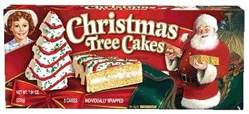 Little Debbie Vanilla Christmas Tree Cakes 2 Pack Amazon Com