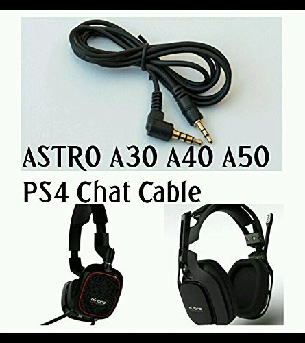 PlayStation 4 PS4 Chat Talkback Cable for ASTRO MixAmp ASTRO A50 & Turtle Beach Gaming Headsets: Amazon.es: Electrónica