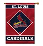 MLB St. Louis Cardinals House Banner, 28 x 40-Inch