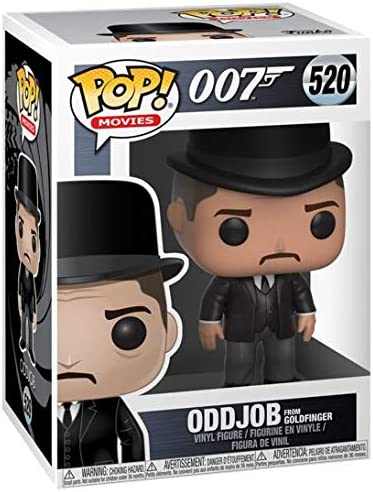 Funko Pop vinyl James Bond-Odd Job #520