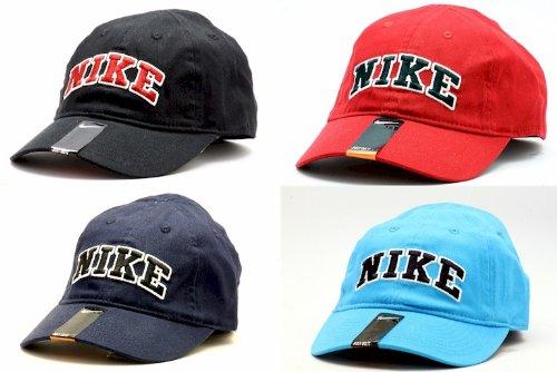 NIKE Boy's Embroidered Logo Baseball Cap SZ 4/7 (Varsity Red)