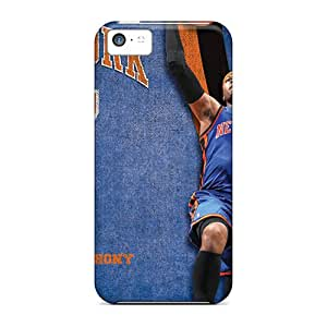 LavernaCooney Iphone 5c High Quality Cell-phone Hard Covers Unique Design Stylish New York Knicks Pattern [PLE13607Ddlh]
