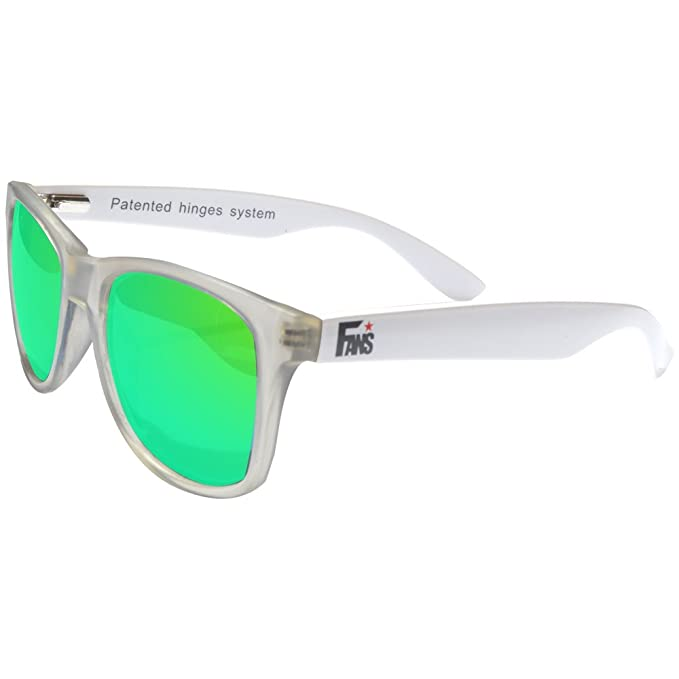 Gafas De Sol Fans, CustomEyes, Polarizadas, Frosted White