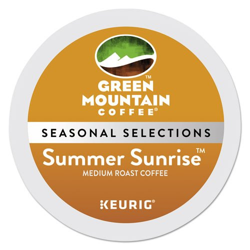 Green Mountain Coffee Summer Sunrise Blend K-cup for Keurig Brewers, 24-count up, 24 Count