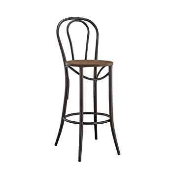 Amazon.com: Taburetes de bar estilo industrial silla de ...