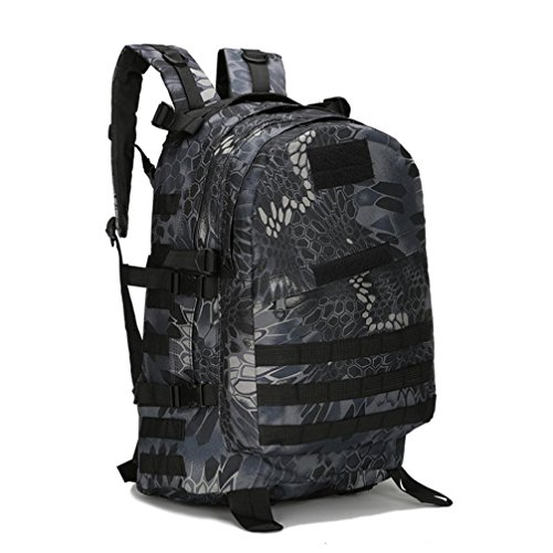 Aimtoppy Outdoor Backpack 40L 3D Camouflage Bag For Outdoor Trekking Sport Travel Camping Hiking Bag  G