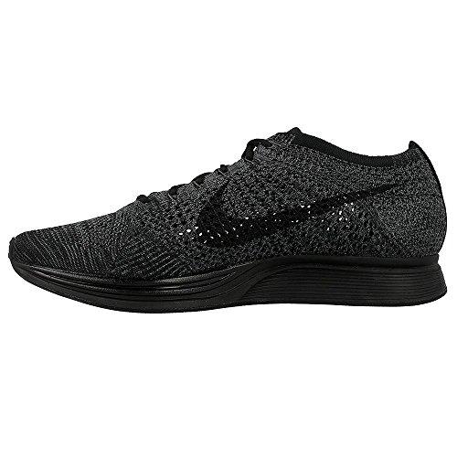 Nike Flyknit Racer Zapatillas de deporte, Unisex adultos negro