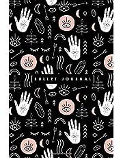 Bullet Journal: Bohemian Psychic Spiritual Moon Crystal Magic Dot Grid Notebook