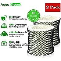 AQUA GREEN Holmes HWF64,Filter B Compatible Humidifier Filter - 2-Pack