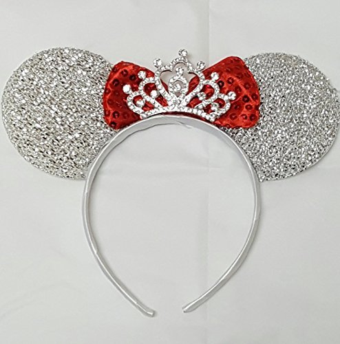 Inspired Minnie Mouse Ears with Beautiful a Rhinestone