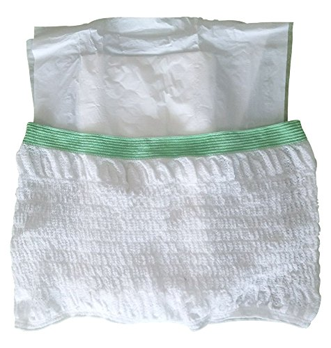Disposable Maternity Net Pants Incontinence Mesh Fixing Brief Stretch Pants