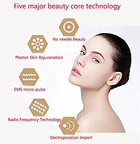 Massage & Relaxation Able No Needle Mesotherapy Electroporation Rf Facial Machine Radio Frequency Skin Led Photon Rejuvenation Face Lifting Massager Long Performance Life Beauty & Health