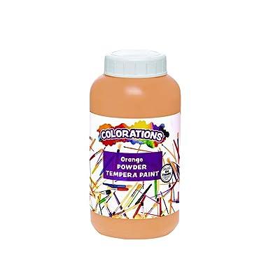 Colorations CPTOR Powder Tempera, Orange - 1 lb.: Industrial & Scientific