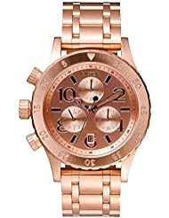 Nixon A404-1044 Ladies The 38-20 Chrono Rose Gold Watch