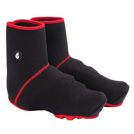 VORCOOL Zapatillas de Ciclismo Cubre Zapatillas de Invierno Zapatillas de Bicicleta de Ciclismo de MTB a