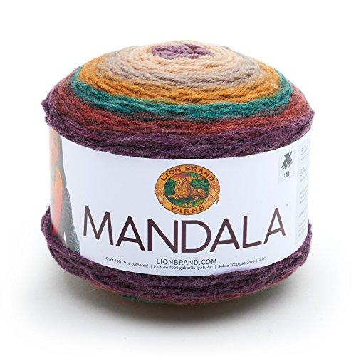 Lion Brand Yarn 525-215 Mandala Yarn, Warlock from Lion Brand Yarn