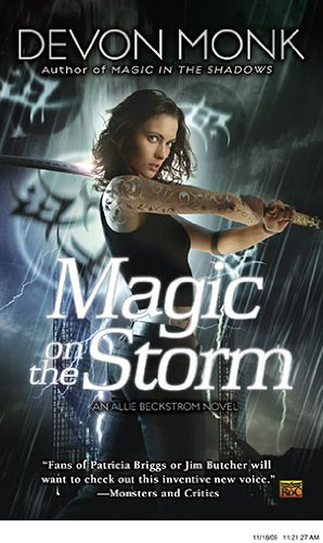book cover of Magic on the Storm