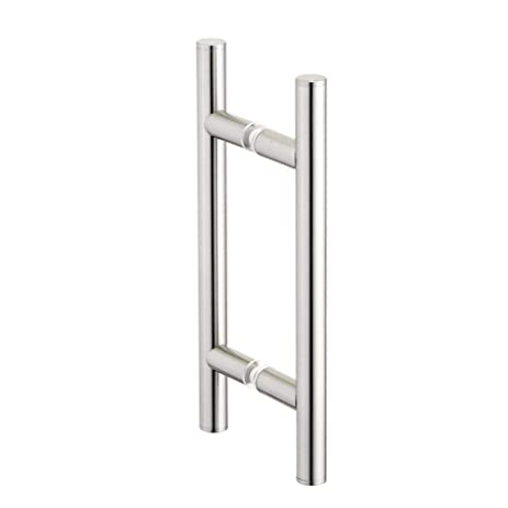 Portals 12u0026quot; C/c Back To Back Counterpoint Shower Door Handle Pull    Polished