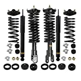 OREDY Front Rear Air Spring to Coil Conversion Kit Complete Strut Assembly 90002 68110c Compatible with Lincoln Mark VIII RWD 1994 1995 1996 1997 1998